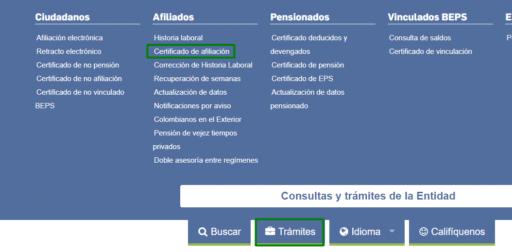Descargar formato de afiliación Colpensiones virtual