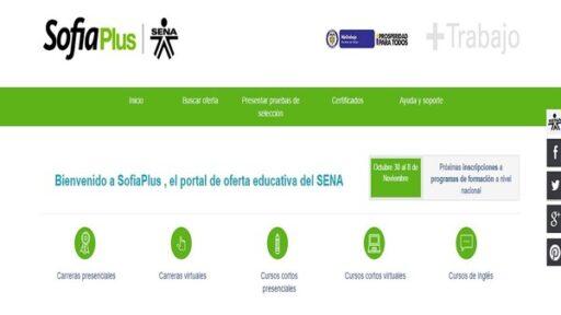 descargar el certificado SENA Sofia Plus en Colombia