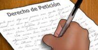 responder derecho de petición